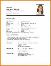 Permalink To Resume Format Job Pdf