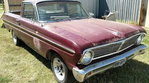 100 Ranchero Truck V8 Car Barn Find 1965 Ford