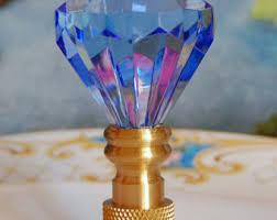 Swarovski Crystal Lamp Finials by Crystal Lamp Finial Etsy