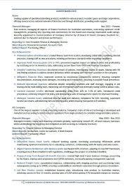 Big 4 Resume Examples Resumeexamples Good Best Format