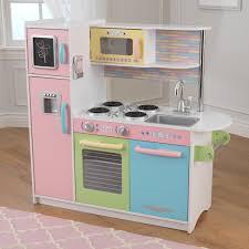 Kidkraft Grand Gourmet Corner Kitchen Play Set by Kidkraft 27 Piece Pastel Kitchen Playset 63027 Hayneedle