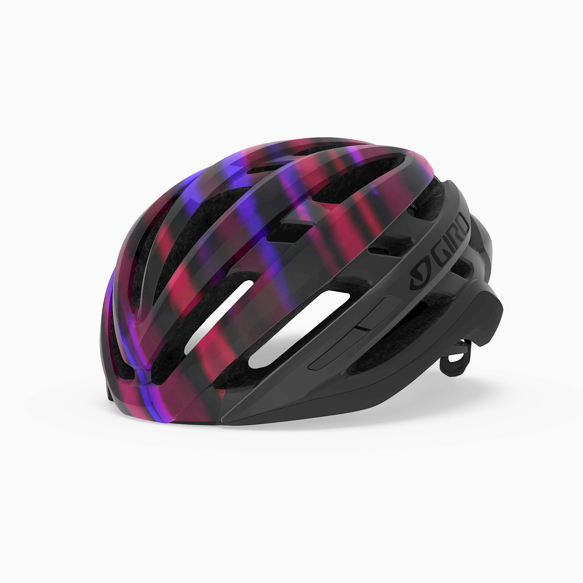 Giro Agilis MIPS Helmet - Women's Matte Black/Electric Purple, M