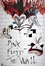 Fashionable Idea Pink Floyd The Wall Poster With Vintage Rock Concert