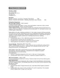 Sample Resume Business Administration Example 5a81531652cf3
