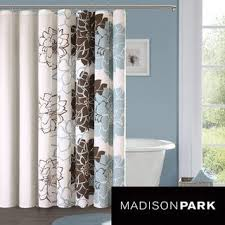Teal And Brown Curtains Walmart by Best 25 Madison Park Shower Curtain Ideas On Pinterest Restroom