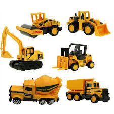 100 Construction Trucks Details About XADP 6 Pcs Play Vehicles Vehicle Truck Cars Toys Set Engineering