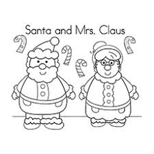 Mr And Mrs Santa Claus With Reindeer Jultomten Printable