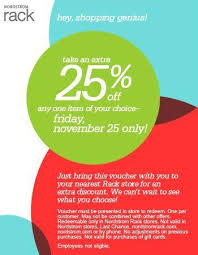 Nordstrom Rack Black Friday coupon For the Home