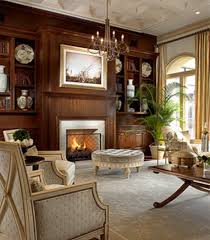 classic living room interior design of palm golf