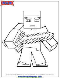 21 Best Minecraft Coloring Pages Images 10CN Diamond Armor