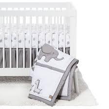 Trend Lab 3 Piece Crib Bedding Set Safari Chevron Tar