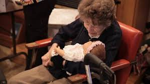 Many Caregivers Have Found Doll Therapy To Be A Good Way To Engage