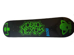 100 Ccs Decks Dead Nexus Logo CCS Skateboard Deck Dead Nexus