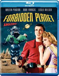 100 Blu Home Video FORBIDDEN PLANET Ray MGM 1956 Warner