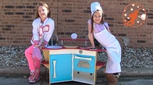 Kidkraft Grand Gourmet Corner Kitchen Play Set by Melissa U0026 Doug Corner Wooden Toy Kitchen Playset Unboxing Ice