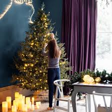 Artificial Christmas Tree 7ft Pre Lit by 6ft Frosted Christmas Tree Christmas Lights Decoration