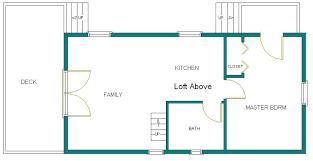 14x40 Cabin Floor Plans x32 u0027 cabin w loft plans package blueprints material list