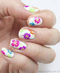 20 Flower Nail Art Design Ideas - Easy Floral Manicures For Spring ... Flower Nail Art Designs Dma Homes 15478 Cadianailart Simple Chain Simple Nail Polish Designs At Home Toe To Do At Home Best Easy Contemporary Ideas Design How You Can It Cool Aloinfo Aloinfo Polish Alluring How To Do Easy Toothpick For Beginners Diy Art Tutorial For Beginner Yourself