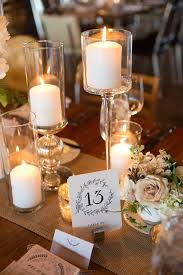 Best 25 Candle Wedding Centerpieces Ideas On Pinterest