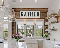 Gather Sign Large Canvas Art Kitchen Decor Fixer Upper Joanna Gaines Inspired Vintage Look Custom Color Subway