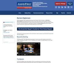 AmeriFirst Increases Sales  By Marrying Inbound Marketing with
