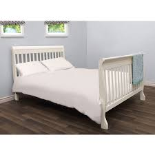 Halo Bed Rail by Bily Outside Mount Double Bed Conversion Kit Cotton White Bily