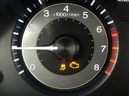 2011 odyssey check engine and vsa light on