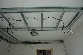 faux plafond rail rénover en image