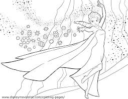 Easy Frozen Printable Coloring Pages Elsa Fever Sheet Games Full Size