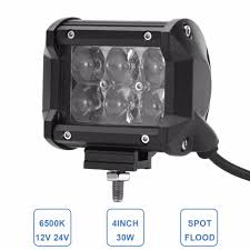 30W LED Work Light Offroad Car ATV Trailer Camper Motorcycle Truck ... China High Intensity Bridgelux Led Truck Work Light Gf006z03 Pair Of New 7x6 54w Led Headlight Square Car Small 26 10w Offroad Auto Lamp Suv 700lm 240w Bar Boat Tractor 4x4 4wd Suv Lights For Trucks Jinchu Work Light Halogen Offroad Atv Truck Quad Flood Lamp 18w 6x 5 Inch 45w 3300lm 15x Leds Dc 1030v 4wd 7inch Spot Beam 36w Trucklites Signalstat Line Now Offers White Auxiliary Lighting 2pcs 10w Motorcycle Bicycle Spot 30 Degree Amazonca Accent Off Road
