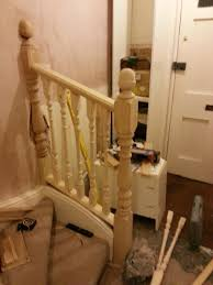 Replacing Spindles And Banisters Image Result For Spindle Stairs Spindle And Handrail Designs Stair Balusters 9 Lomonacos Iron Concepts Home Decor New Wrought Panels Stairs Has Many Types Of Remodelaholic Banister Renovation Using Existing Newel Stair Banister Redo With New Newel Post Spindles Tda Staircase Spindles Best Decorations Insight Best 25 Ideas On Pinterest How To Design Railings Httpwww Disnctive Interiors Dark Oak Sets Off The White Install Youtube The Is Painted Chris Loves Julia