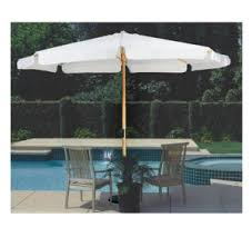 Wooden Umbrella Sun Garden Promotional Commercial Market Parasol Outdoor