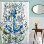 Pirate Shower Curtain For Kids Bathroom