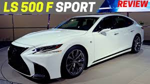 AWESOME 2018 Lexus LS 500 F Sport First Look Flagship Sedan