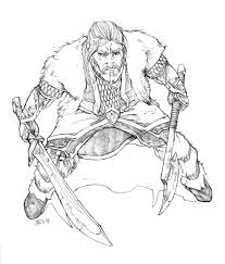 Hobbit Coloring Pages Fablesfromthefriends Downloads Online Page