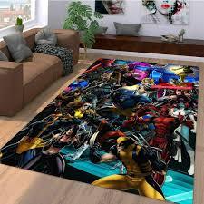 wunder comic figur teppich wohnzimmer teppichboden