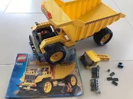 100 Lego Dump Truck 7344 Toys Games Bricks Figurines On Carousell