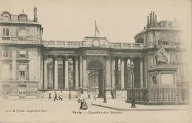 chambre des deputes le palais bourbon 1900