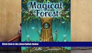 Download PDF Magical Forest An Adult Coloring Book With Enchanted Animals Fantasy