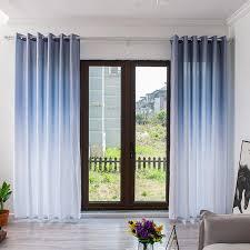 polyester vorhang öse ring café fenster balkon vorhänge wohnzimmer decor sonnencreme langlebig 100 x270cm hause textil