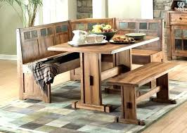 Corner Bench Table Stunning With Set Dining Room Storage