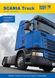 100 Scania Truck New Catalogue For SCANIA S Europart UK