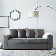 West Elm Overarching Floor Lamp Instructions by Overarching Linen Shade Floor Lamp Antique Bronze West Elm