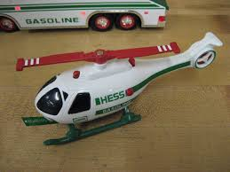 1995 Hess Toy Truck And Helicopter | EBay