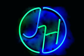 your initials in a decorative custom neon monogram stunning for