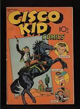 1944 RARE 1st ISSUE CISCO KID COMICS BOOK COMPLETE ORIGINAL