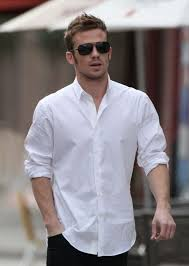 Men Who Wear White Shirts Is The Most Handsome
