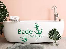 grazdesign wandtattoo bade lounge anker badezimmer