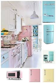 Have You Seen A Cooler Fridge Colorful Pink Retro Refrigerator By Big Chill Click