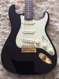Heres For Sale A High Quality Reproduction Of The John Mayer Black 1 Limited Edition Stratocaster Made Top Parts Body And Neck Are By